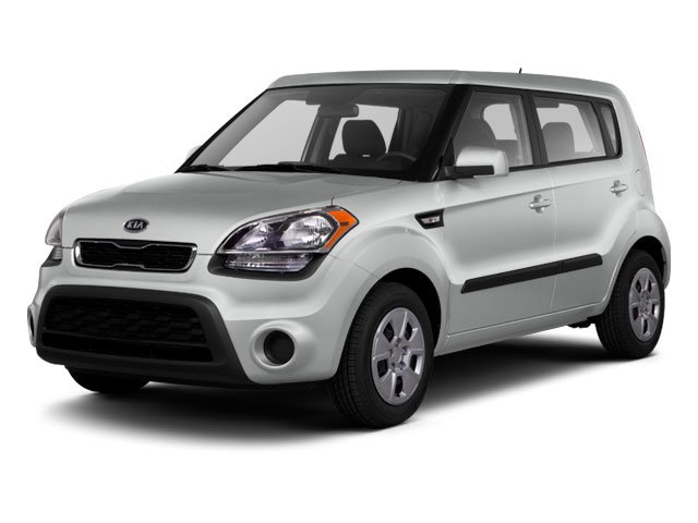 2012 Kia Soul  Wagon Front Wheel Drive Power Steering 4-Wheel Disc Brakes Aluminum Wheels Tire