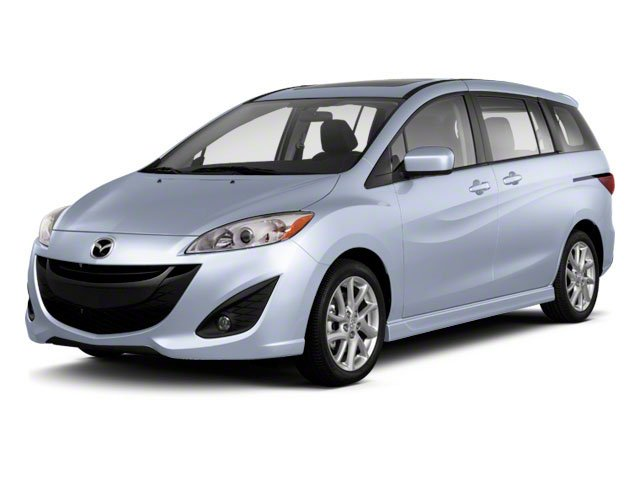 2012 Mazda Mazda5 Grand Touring Front Wheel Drive Power Steering 4-Wheel Disc Brakes Aluminum Wh