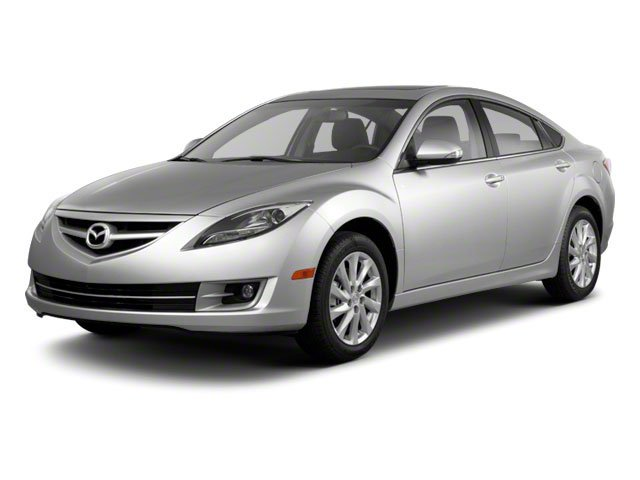 2012 Mazda Mazda6 i Touring BLACK  CLOTH SEAT TRIM EBONY BLACK Front Wheel Drive Power Steering
