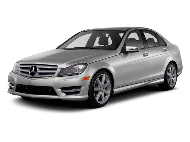2012 Mercedes C-Class NAVIGATION LOADED Turbocharged Rear Wheel Drive Power Steering ABS 4-