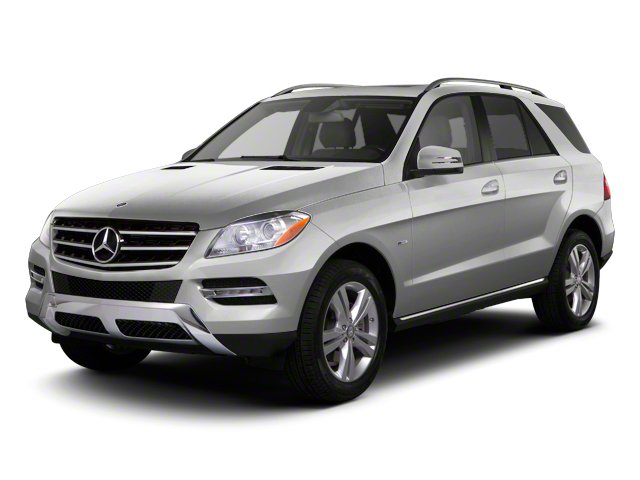 2012 Mercedes M-Class ML550 Turbocharged All Wheel Drive Power Steering 4-Wheel Disc Brakes Alu