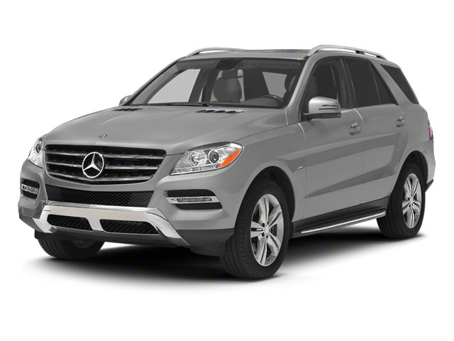 2012 Mercedes M-Class ML350 BlueTEC Turbocharged All Wheel Drive Power Steering 4-Wheel Disc Bra
