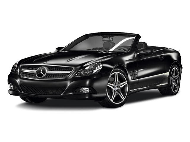2012 Mercedes SL-Class SL550 Rear Wheel Drive Air Suspension Active Suspension Power Steering 4
