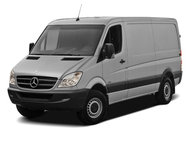 2012 Mercedes Sprinter Cargo Vans High Roof Sprinter 2500 Cargo Van 170 in WB Turbocharged Rear