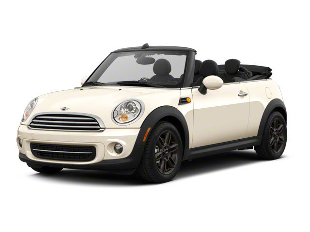 2012 MINI Cooper Convertible Base Front Wheel Drive Power Steering 4-Wheel Disc Brakes Tires - F