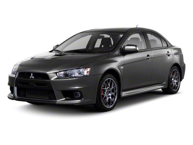2012 Mitsubishi Lancer Evolution MR Turbocharged LockingLimited Slip Differential All Wheel Driv