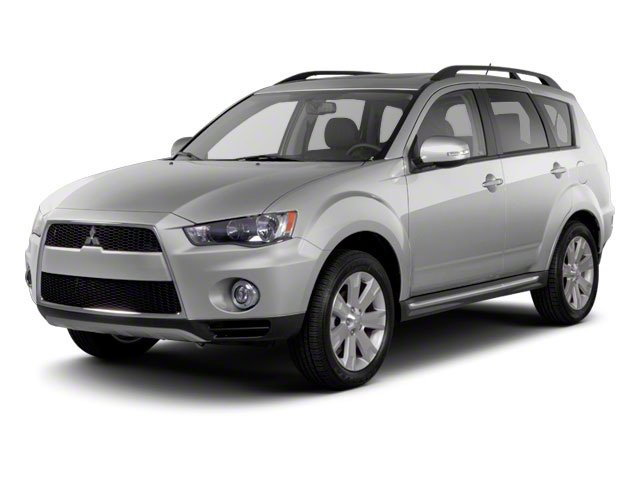 2012 Mitsubishi Outlander SE Front Wheel Drive Power Steering Aluminum Wheels Temporary Spare Ti