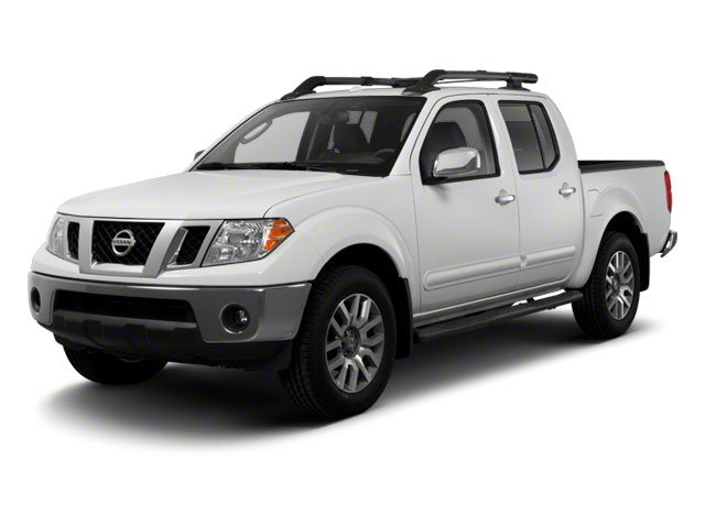 2012 Nissan Frontier SV Crew Cab 4x4 Four Wheel Drive Tow Hooks Power Steering 4-Wheel Disc Brak