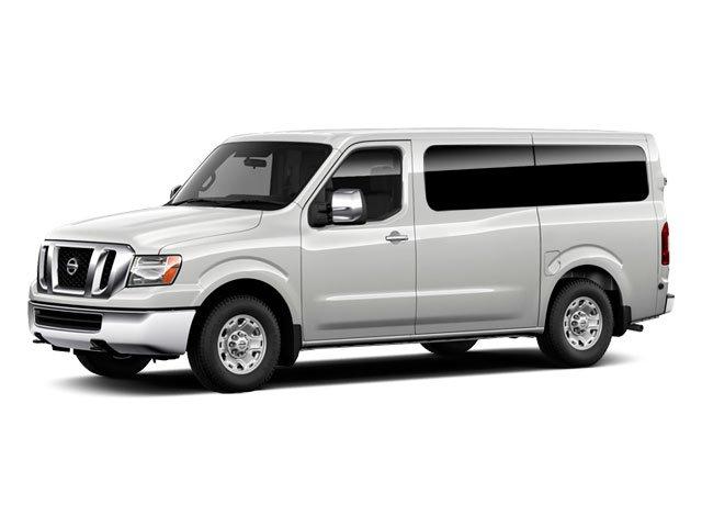 2012 Nissan NVP SV Rear Wheel Drive Power Steering 4-Wheel Disc Brakes Chrome Wheels Tires - Fr