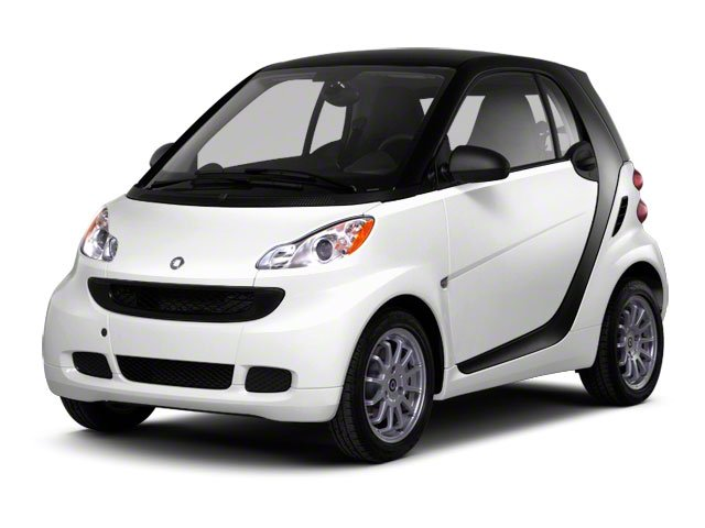 2012 smart fortwo Pure Rear Wheel Drive Manual Steering Front DiscRear Drum Brakes Steel Wheels