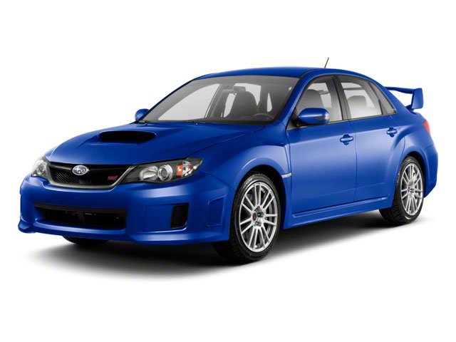 2012 Subaru Impreza Sedan WRX WRX STI Turbocharged LockingLimited Slip Differential All Wheel Dr