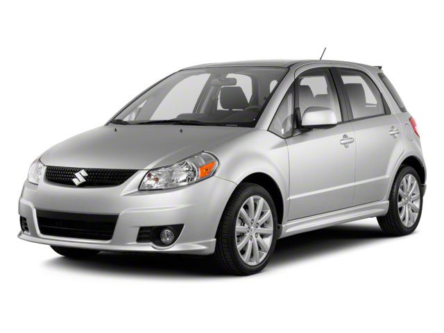 2012 Suzuki SX4  Front Wheel Drive Power Steering 4-Wheel Disc Brakes Aluminum Wheels Tires - F