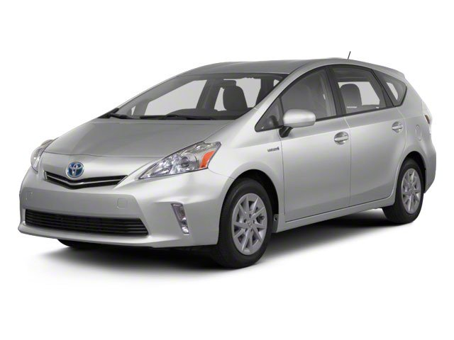 2012 Toyota Prius v Five Wagon 4D Keyless Start Front Wheel Drive Power Steering 4-Wheel Disc Br
