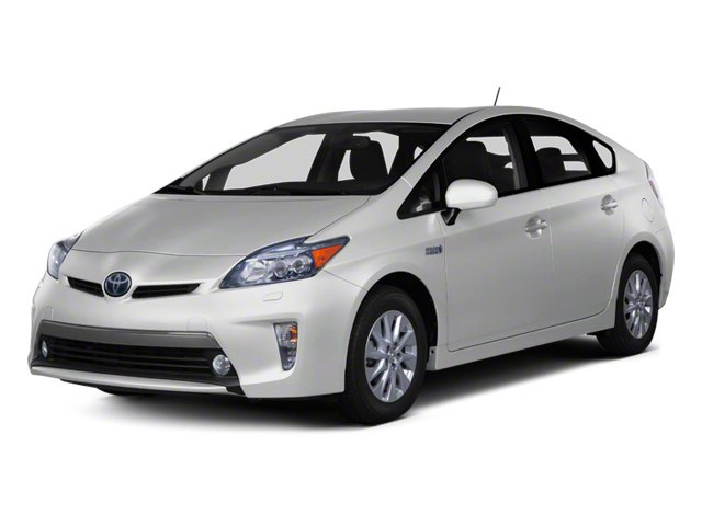2012 Toyota Prius Plug-In w HOV Stickers Keyless Start Front Wheel Drive Power Steering 4-Wheel