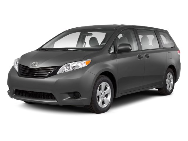 2012 Toyota Sienna  Front Wheel Drive Power Steering 4-Wheel Disc Brakes Aluminum Wheels Tires