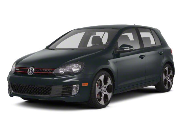 2012 Volkswagen GTI wSunroof  Navi PZEV Turbocharged Front Wheel Drive Power Steering 4-Wheel