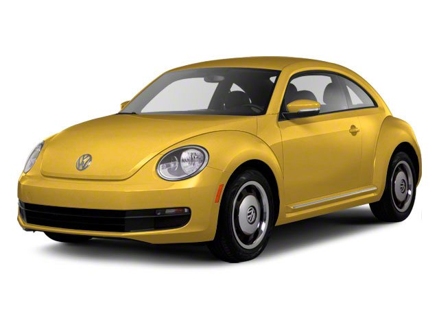 2012 Volkswagen Beetle 20T Turbo PZEV Turbocharged Front Wheel Drive Power Steering 4-Wheel Dis