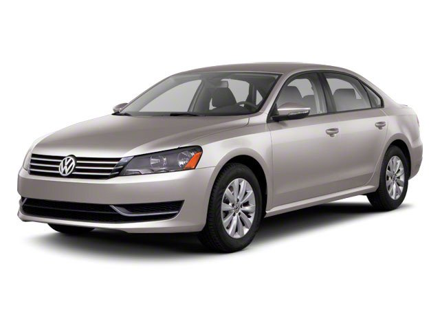 2012 Volkswagen Passat SE BLACK TITAN BLACK  V-TEX LEATHERETTE SEATING SURFACES Front Wheel Drive