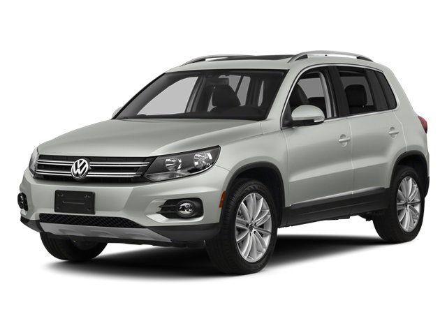 2012 Volkswagen Tiguan SE with Sunroof  Nav Turbocharged Traction Control Four Wheel Drive Powe