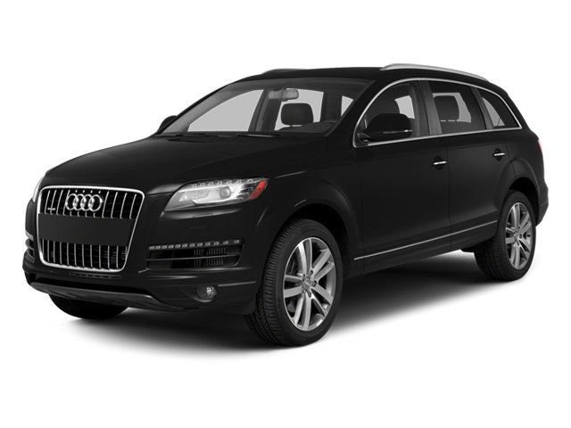 2013 Audi Q7 30L TDI Prestige Turbocharged All Wheel Drive Power Steering 4-Wheel Disc Brakes