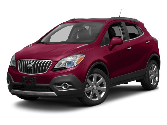 2013 Buick Encore Leather Seat Memory Turbocharged Front Wheel Drive Power Steering Aluminum Wh