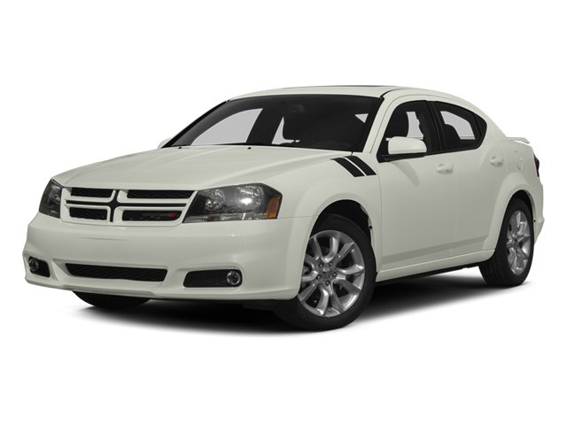 2013 Dodge Avenger RT Front Wheel Drive Power Steering ABS 4-Wheel Disc Brakes Aluminum Wheels