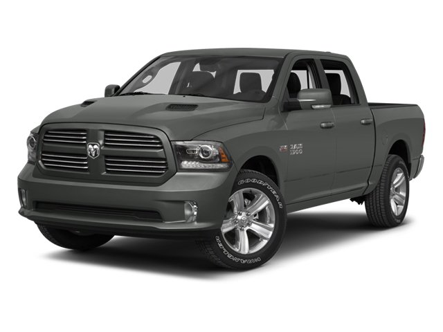 2013 Ram 1500 Tradesman Rear Wheel Drive Tow Hitch Power Steering ABS 4-Wheel Disc Brakes Stee