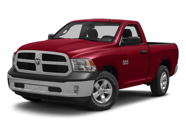 2013 Ram 1500 Tradesman Four Wheel Drive Tow Hitch Power Steering ABS 4-Wheel Disc Brakes Stee