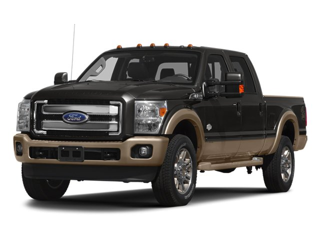 2013 Ford Super Duty F-350 SRW  Four Wheel Drive Tow Hitch Tow Hooks Power Steering Conventiona