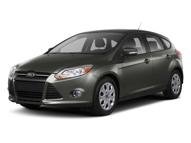 2013 Ford Focus SE Front Wheel Drive Power Steering Front DiscRear Drum Brakes Aluminum Wheels