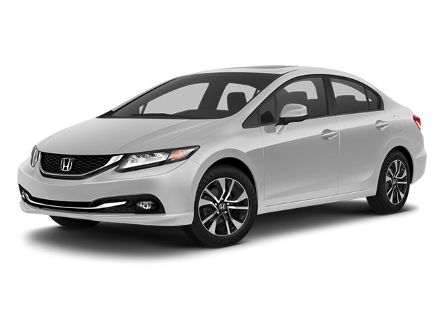 2013 Honda Civic Sdn EX-L Front Wheel Drive Power Steering 4-Wheel Disc Brakes Aluminum Wheels