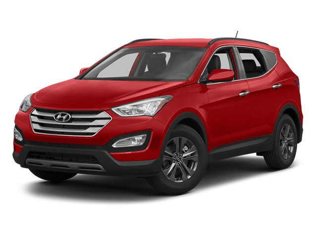 2013 Hyundai Santa Fe 63402F45 Sport Automatic Serrano Red Front Wheel Drive Power Steering 4-