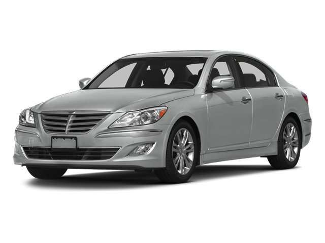 2013 Hyundai Genesis 38L Rear Wheel Drive Power Steering 4-Wheel Disc Brakes Aluminum Wheels T