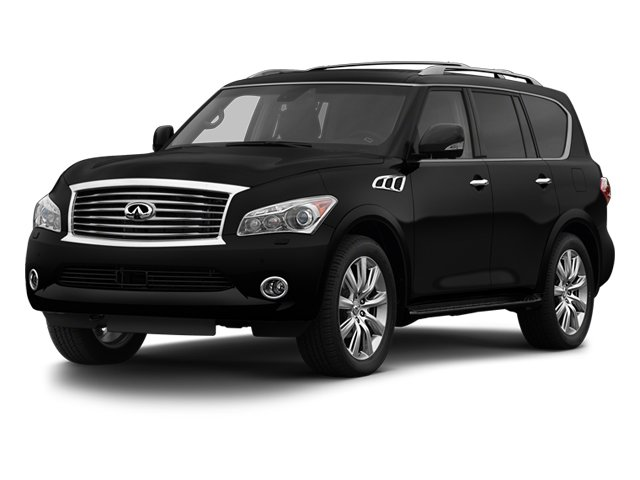 2013 INFINITI QX56  Four Wheel Drive Keyless Start Tow Hitch Air Suspension Power Steering 4-W