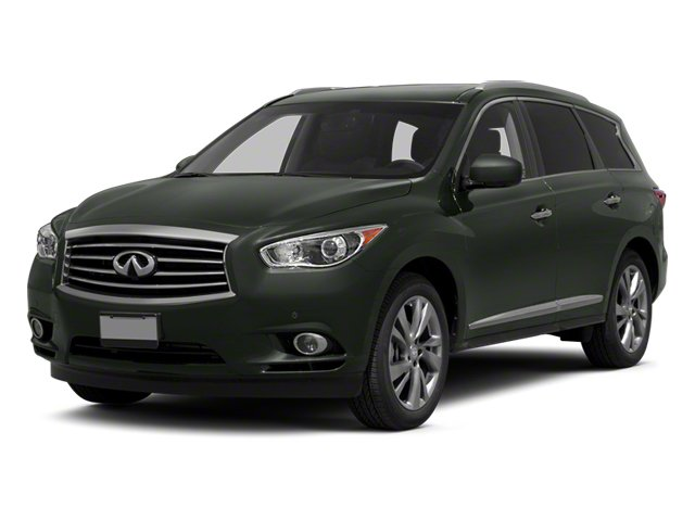 2013 INFINITI JX35  Front Wheel Drive Power Steering 4-Wheel Disc Brakes Aluminum Wheels Tires