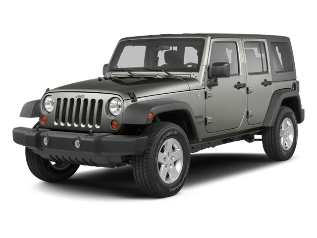 2013 Jeep Wrangler Unlimited SAHA Four Wheel Drive Power Steering 4-Wheel Disc Brakes Aluminum W