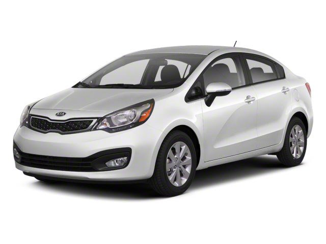 2013 Kia Rio EX Front Wheel Drive Power Steering 4-Wheel Disc Brakes Wheel Covers Steel Wheels