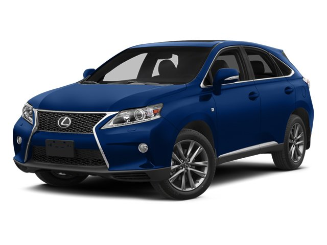 2013 Lexus RX 350 Keyless Start All Wheel Drive Power Steering 4-Wheel Disc Brakes Tires - Fron