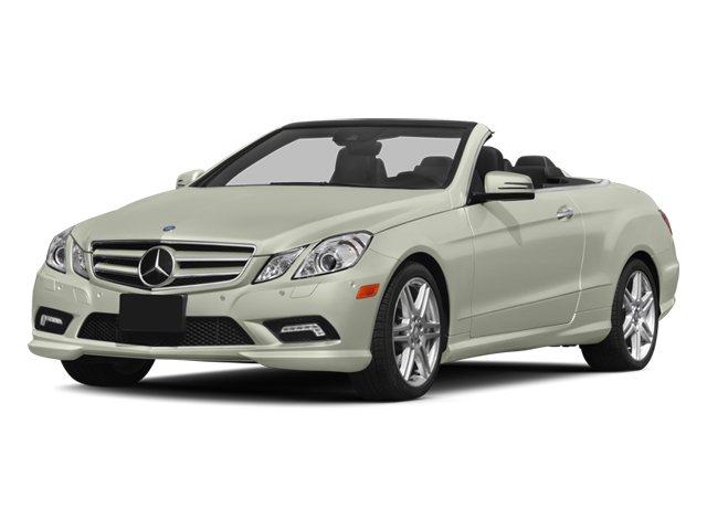 2013 Mercedes E-Class E 550 Turbocharged Rear Wheel Drive Active Suspension Power Steering 4-Wh