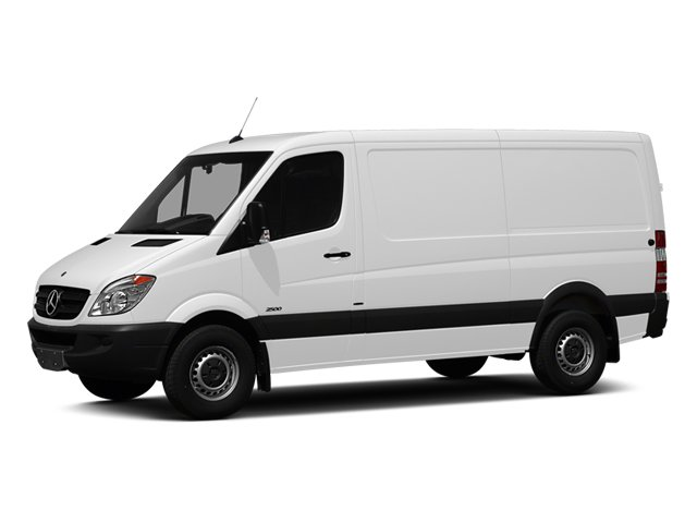 2013 Mercedes Sprinter Cargo Vans 2500 Cargo Van Turbocharged Rear Wheel Drive 4-Wheel Disc Brake