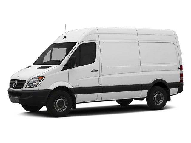 2013 Mercedes Sprinter Cargo Vans 2500 170 WB Turbocharged Rear Wheel Drive 4-Wheel Disc Brakes