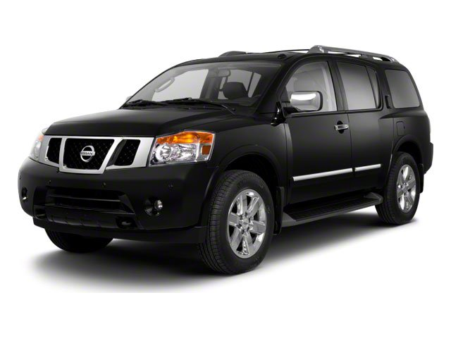 2013 Nissan Armada SV Rear Wheel Drive Power Steering 4-Wheel Disc Brakes Aluminum Wheels Tires