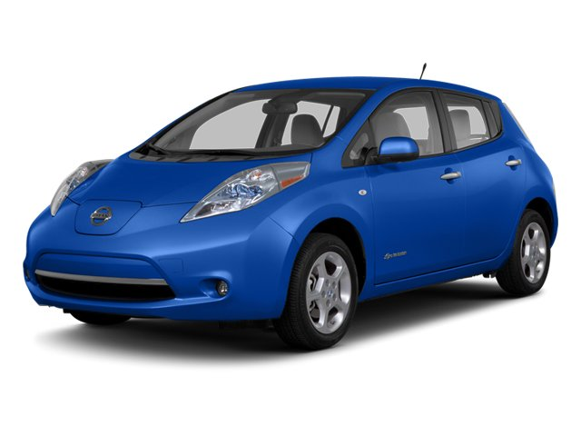 2013 Nissan LEAF SL Electric Motor Keyless Start Front Wheel Drive Power Steering 4-Wheel Disc