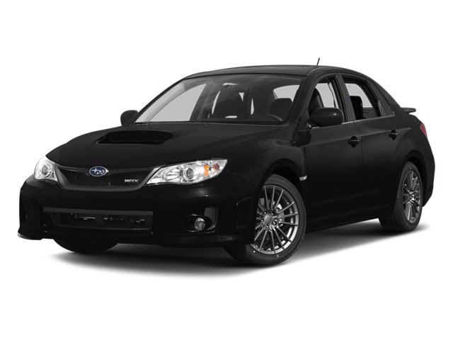 2013 Subaru Impreza Sedan WRX WRX Turbocharged All Wheel Drive Power Steering 4-Wheel Disc Brake
