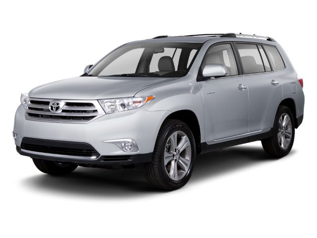 2013 Toyota Highlander V6 Front Wheel Drive Power Steering 4-Wheel Disc Brakes Aluminum Wheels