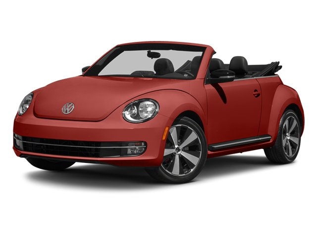 2013 Volkswagen Beetle Convertible 20T Turbocharged Front Wheel Drive Power Steering 4-Wheel Di