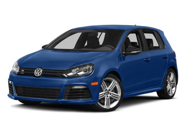 2013 Volkswagen Golf R R Hatchback 4D Turbocharged All Wheel Drive Power Steering 4-Wheel Disc B