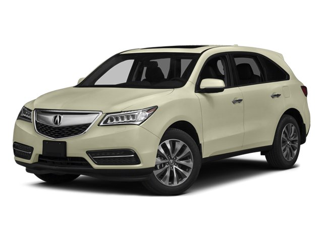 2014 Acura MDX Tech Pkg All Wheel Drive Active Suspension Power Steering ABS 4-Wheel Disc Brake