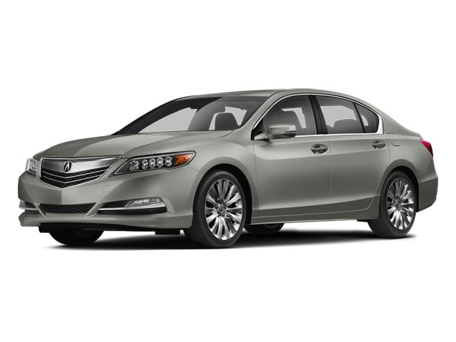 2014 Acura RLX Advance Pkg Front Wheel Drive Power Steering ABS 4-Wheel Disc Brakes Brake Assis