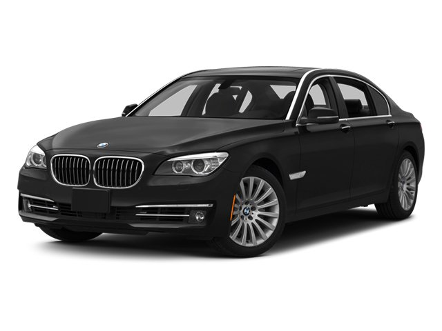 2014 BMW 7 Series 740i Turbocharged Rear Wheel Drive Active Suspension Power Steering ABS 4-Wh